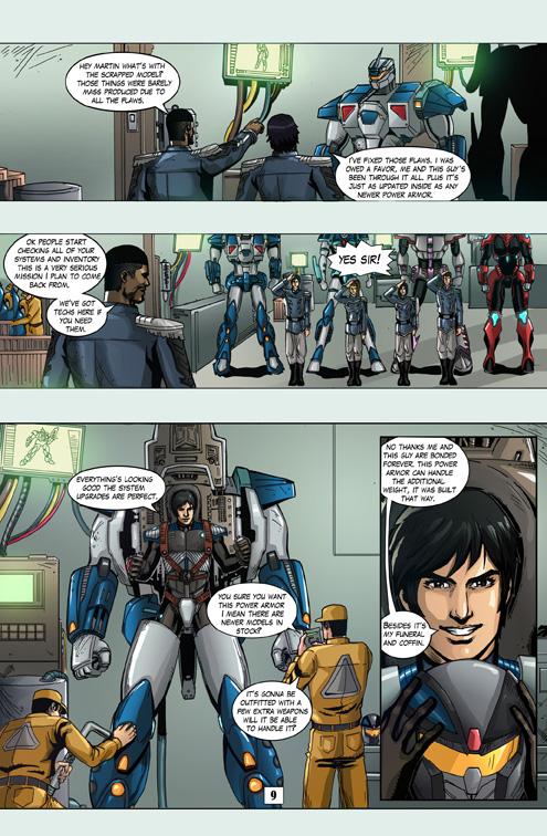 Juggernaut Comic #1 Page 9