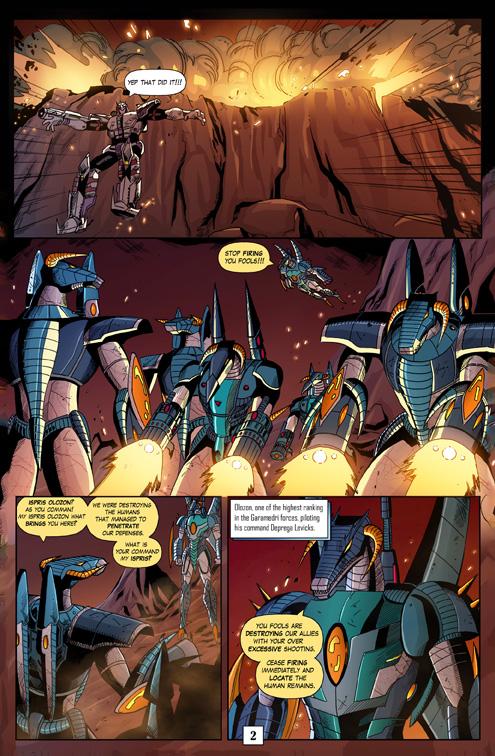 Juggernaut Comic #3 Page 2