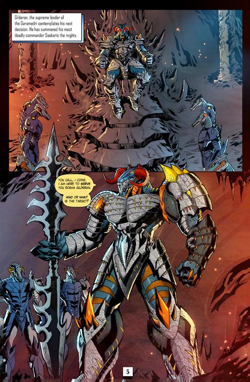 Juggernaut Comic #3 Page 5