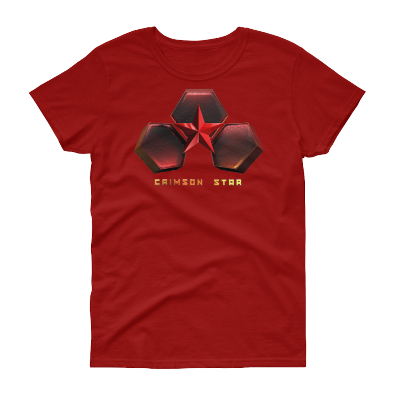 Crimson-Star_mockup_Front_Flat_Red
